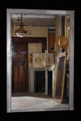 Miroir ancien daniel morel anciens miroirs for Miroir baroque grande taille