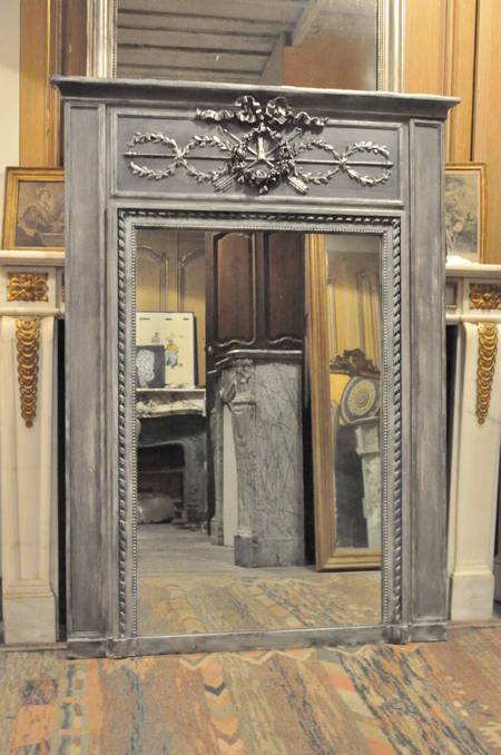 miroir ancien louis xvi daniel morel. Black Bedroom Furniture Sets. Home Design Ideas